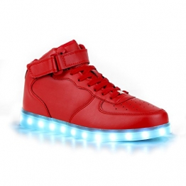 LED-Schuhe für Damen 109161 SNEAKERS in ROT