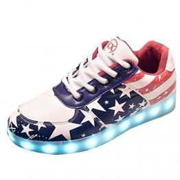 Gaorui LED-Sneaker im Stern-Look