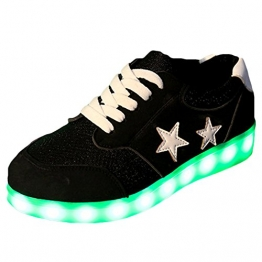 Oasap LED Light-Up Sneakers für Damen mit Stern-Emblem