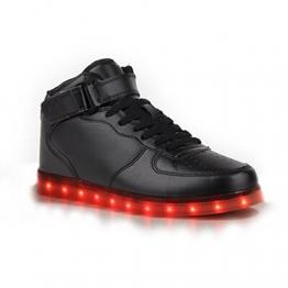 Topteck LED-Schuhe für Damen und Herren in 7 LED-Farben